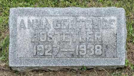 HOSTETLER, ANNA GERTRUDE - Holmes County, Ohio | ANNA GERTRUDE HOSTETLER - Ohio Gravestone Photos
