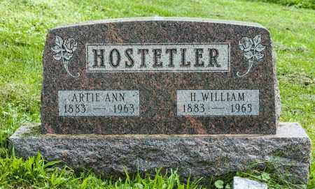 HOSTETLER, H. WILLIAM - Holmes County, Ohio | H. WILLIAM HOSTETLER - Ohio Gravestone Photos