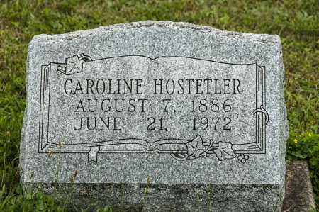 HOSTETLER, CAROLINE - Holmes County, Ohio | CAROLINE HOSTETLER - Ohio Gravestone Photos