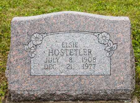 HOSTETLER, ELSIE - Holmes County, Ohio | ELSIE HOSTETLER - Ohio Gravestone Photos