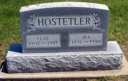 HOSTETLER, IRA - Holmes County, Ohio | IRA HOSTETLER - Ohio Gravestone Photos
