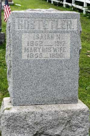 HOSTETLER, ISAIAH N. - Holmes County, Ohio | ISAIAH N. HOSTETLER - Ohio Gravestone Photos