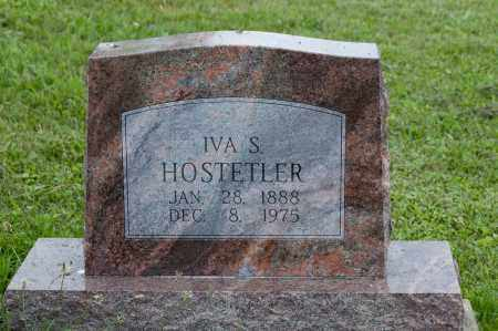 HOSTETLER, IVA S. - Holmes County, Ohio | IVA S. HOSTETLER - Ohio Gravestone Photos
