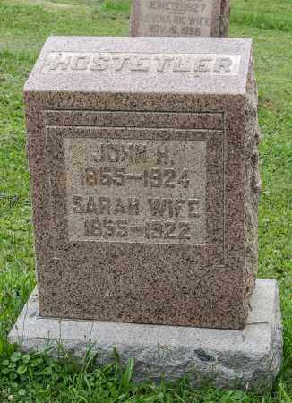 HOSTETLER, JOHN H. - Holmes County, Ohio | JOHN H. HOSTETLER - Ohio Gravestone Photos