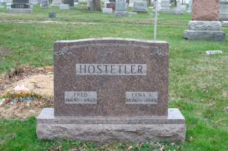 HOSTETLER, LENA A. - Holmes County, Ohio | LENA A. HOSTETLER - Ohio Gravestone Photos