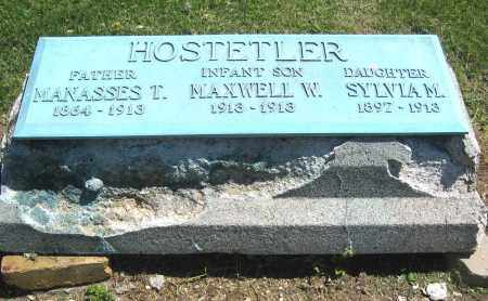 HOSTETLER, SYLVIA M. - Holmes County, Ohio | SYLVIA M. HOSTETLER - Ohio Gravestone Photos