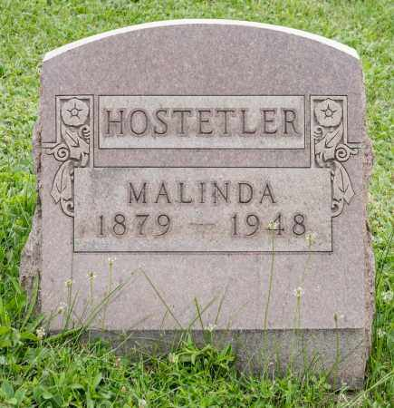 HOSTETLER, MALINDA - Holmes County, Ohio | MALINDA HOSTETLER - Ohio Gravestone Photos