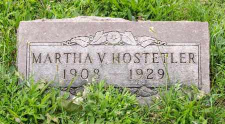 HOSTETLER, MARTHA V. - Holmes County, Ohio | MARTHA V. HOSTETLER - Ohio Gravestone Photos