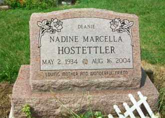 HOSTETLER, NADINE MARCELLA (DEANIE) - Holmes County, Ohio | NADINE MARCELLA (DEANIE) HOSTETLER - Ohio Gravestone Photos