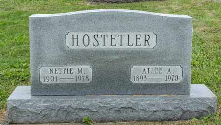 HOSTETLER, ATLEE A. - Holmes County, Ohio | ATLEE A. HOSTETLER - Ohio Gravestone Photos