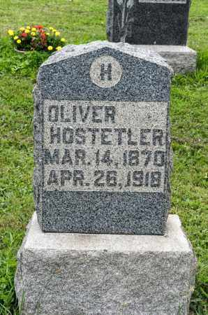 HOSTETLER, OLIVER - Holmes County, Ohio | OLIVER HOSTETLER - Ohio Gravestone Photos
