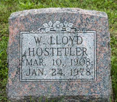 HOSTETLER, W. LLOYD - Holmes County, Ohio | W. LLOYD HOSTETLER - Ohio Gravestone Photos