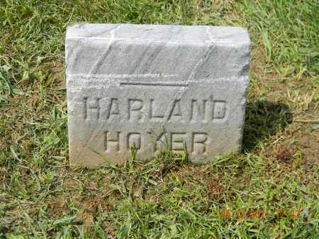HOYER, HARLAND - Holmes County, Ohio | HARLAND HOYER - Ohio Gravestone Photos