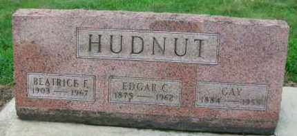 HUDNUT, GAY - Holmes County, Ohio | GAY HUDNUT - Ohio Gravestone Photos