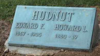 HUDNUT, EDWARD FRANKLIN - Holmes County, Ohio | EDWARD FRANKLIN HUDNUT - Ohio Gravestone Photos