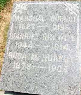 HUDNUT, HARRIET - Holmes County, Ohio | HARRIET HUDNUT - Ohio Gravestone Photos