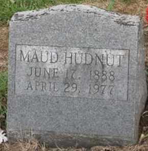 HUDNUT, MAUD - Holmes County, Ohio | MAUD HUDNUT - Ohio Gravestone Photos