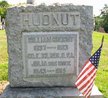 HUDNUT, JULIA - Holmes County, Ohio | JULIA HUDNUT - Ohio Gravestone Photos