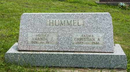 HUMMEL, CHRISTIAN ALLEN - Holmes County, Ohio | CHRISTIAN ALLEN HUMMEL - Ohio Gravestone Photos