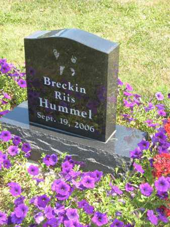 HUMMEL, BRECKIN - Holmes County, Ohio | BRECKIN HUMMEL - Ohio Gravestone Photos