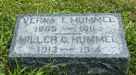 HUMMEL, MILLER CHRISTIAN - Holmes County, Ohio | MILLER CHRISTIAN HUMMEL - Ohio Gravestone Photos