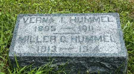 HUMMEL, VERNA IRENE - Holmes County, Ohio | VERNA IRENE HUMMEL - Ohio Gravestone Photos