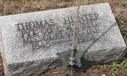 HUNTER, THOMAS - Holmes County, Ohio | THOMAS HUNTER - Ohio Gravestone Photos