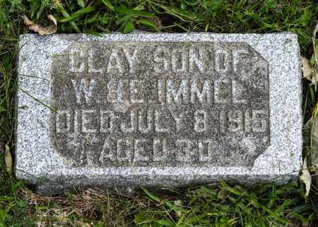 IMMEL, CLAY - Holmes County, Ohio | CLAY IMMEL - Ohio Gravestone Photos