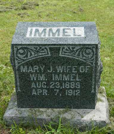 WEAVER IMMEL, MARY JANE - Holmes County, Ohio | MARY JANE WEAVER IMMEL - Ohio Gravestone Photos