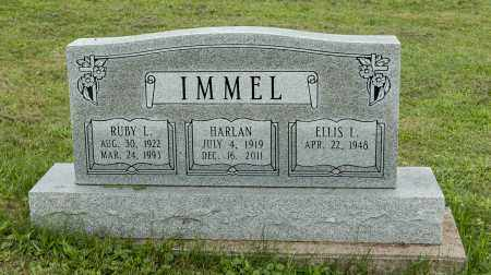 IMMEL, HARLAN - Holmes County, Ohio | HARLAN IMMEL - Ohio Gravestone Photos
