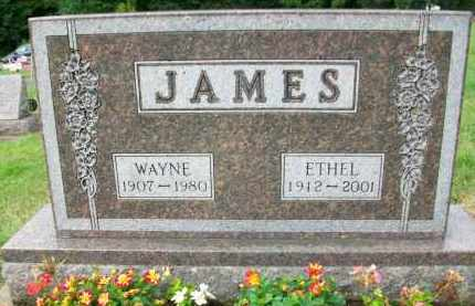 JAMES, WAYNE - Holmes County, Ohio | WAYNE JAMES - Ohio Gravestone Photos