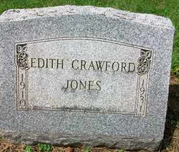 JONES, EDITH - Holmes County, Ohio | EDITH JONES - Ohio Gravestone Photos