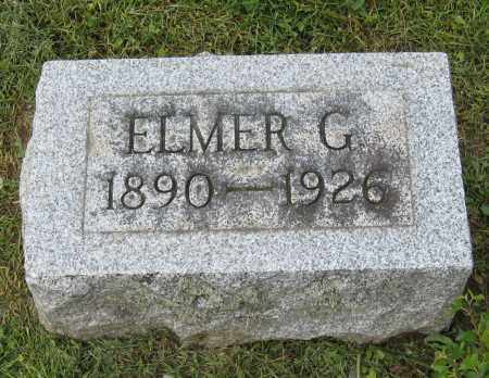 JONES, ELMER G. - Holmes County, Ohio | ELMER G. JONES - Ohio Gravestone Photos