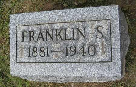 JONES, FRANKLIN S. - Holmes County, Ohio | FRANKLIN S. JONES - Ohio Gravestone Photos