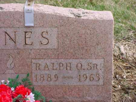 JONES, RALPH O. SR. - Holmes County, Ohio | RALPH O. SR. JONES - Ohio Gravestone Photos