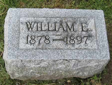 JONES, WILLIAM E. - Holmes County, Ohio | WILLIAM E. JONES - Ohio Gravestone Photos