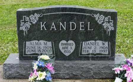 KANDEL, DANIEL W. - Holmes County, Ohio | DANIEL W. KANDEL - Ohio Gravestone Photos