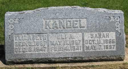 KANDEL, ELI A - Holmes County, Ohio | ELI A KANDEL - Ohio Gravestone Photos