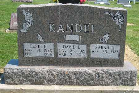 KANDEL, DAVID E - Holmes County, Ohio | DAVID E KANDEL - Ohio Gravestone Photos