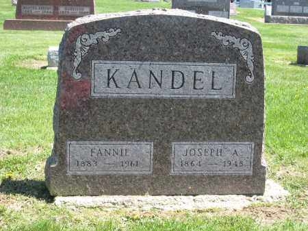 KANDEL, FANNIE - Holmes County, Ohio | FANNIE KANDEL - Ohio Gravestone Photos