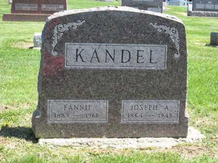 KANDEL, JOSEPH A - Holmes County, Ohio | JOSEPH A KANDEL - Ohio Gravestone Photos