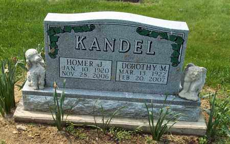 KANDEL, HOMER J - Holmes County, Ohio | HOMER J KANDEL - Ohio Gravestone Photos