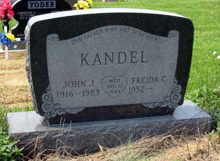 KANDEL, JOHN J. - Holmes County, Ohio | JOHN J. KANDEL - Ohio Gravestone Photos