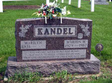 KANDEL, MARILYN - Holmes County, Ohio | MARILYN KANDEL - Ohio Gravestone Photos