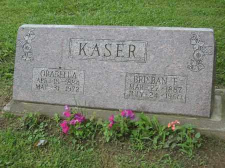 KASER, ORABELLA - Holmes County, Ohio | ORABELLA KASER - Ohio Gravestone Photos