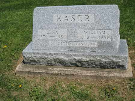 KASER, BURDETTE - Holmes County, Ohio | BURDETTE KASER - Ohio Gravestone Photos