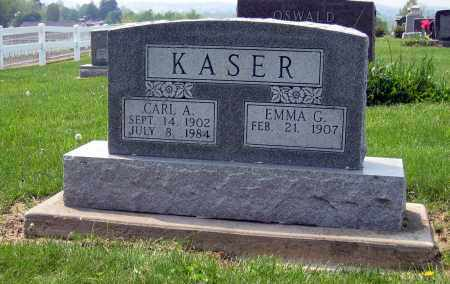 KASER, EMMA G. - Holmes County, Ohio | EMMA G. KASER - Ohio Gravestone Photos