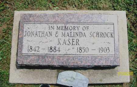 KASER, JONATHAN - Holmes County, Ohio | JONATHAN KASER - Ohio Gravestone Photos