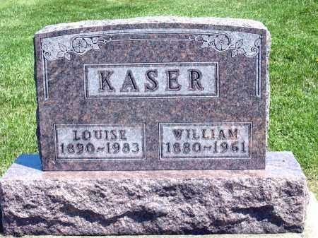 KASER, WILLIAM - Holmes County, Ohio | WILLIAM KASER - Ohio Gravestone Photos
