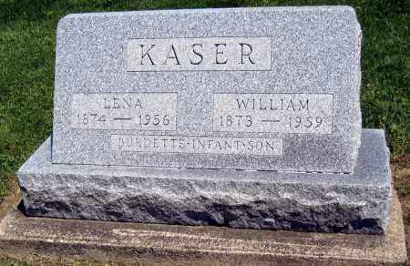 KASER, WILLIAM - Holmes County, Ohio | WILLIAM KASER - Ohio Gravestone Photos